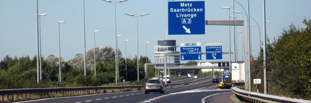 Autoroute Luxembourg